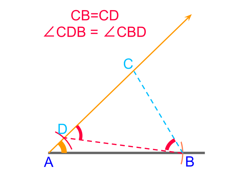 construction of triangle SA difference between 2 sides