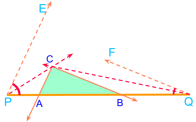 construction of triangle AA parameter