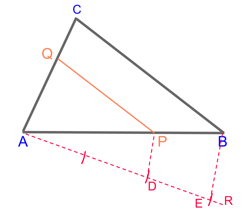 scale-down a triangle