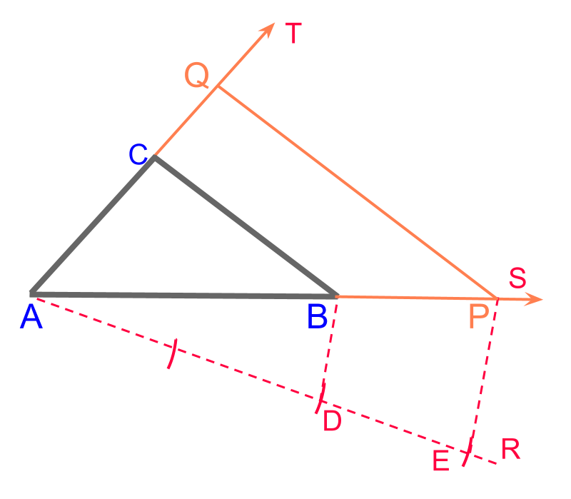 scale-up a triangle
